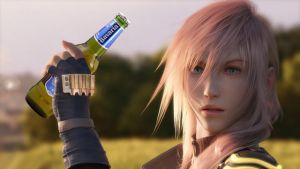 Cheers to the weekend (Final Fantasy XIII) by CharmingIce