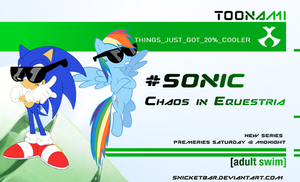 Sonic Chaos in Equestria Toonami bump (green) by Snicketbar