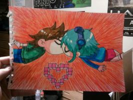 Scott and Ramona by peacemaker13