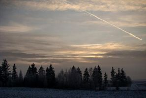 winter sky5 by narare