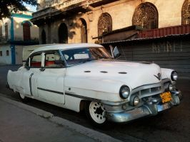 Old Cadillac in Havana, Cuba by overmoder