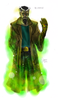 How I'd redesign the Dr. Strange by LukeLlenroc