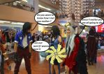Final Fantasy 8 (Little chat between friends) by WeskerPower