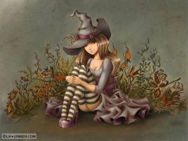 Witch Elda by LiaSelina