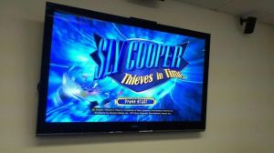 sly cooper title menu and crew van by FCC93