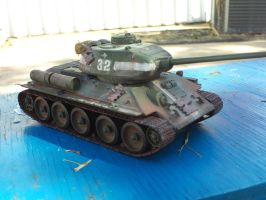 t34/85 model pic 2 by shank117