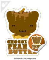 Kitty Cones - C. Peanut Butter by jmillgraphics