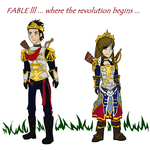 Fable 3 - King and Queen of Albion by Zombiehorse2