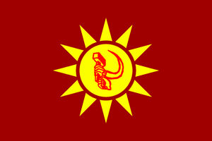 Flag of the PR of Zhou by GeneralHelghast