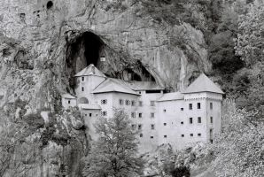 Predjama Castle by TheHungerArtist