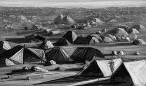 Tent City by rippermcguirl