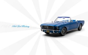 1964 Ford Mustang Wallpaper by FordGT