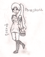 Persephone by R41NBOWirony