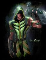 Smallville Green Arrow Redux by GavinMichelli