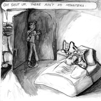 Monsters and Boogiemen by viperxmns
