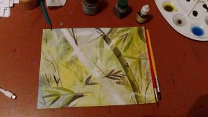 Bamboo by handsofmike