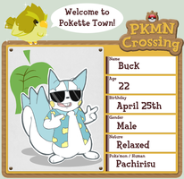 PKMN Crossing App - Buck by Ellfox