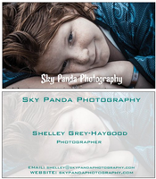 New Business Cards by SkyPandaPhotography