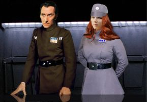 Lovers Tarkin and Daala by Elephant883