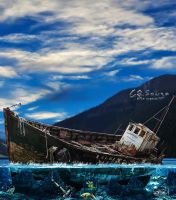 The legend of the abandoned ship by genivaldosouza