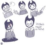 More Bendy Doodles by cipherpineapplez