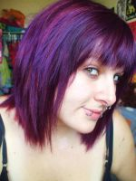 Purple Hurr by itashleys-makeup