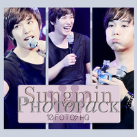 Photopack Sungmin-Super Junior 001 by DiamondPhotopacks