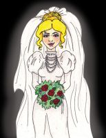 Here comes the Bride..again by KatisMrsLovett