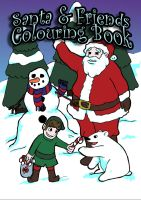 Christmas Coloring Book Cover by DeathlySilent