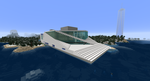 Minecraft - Oslo Opera House (Rebuilt) by MinecraftArchitect90