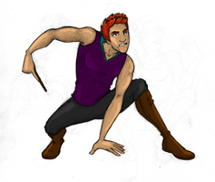 Sketchies: Charlie in Motion by Rotae