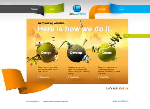 Local Wisdom Expertise page by LocalWisdom