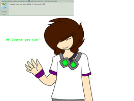 QNA: Hair Touching? by ask-Team-crafted