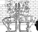 Sally And Becky In Basement by DarkAnimeeny