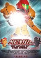 Metroid Fan Poster by Alecx8