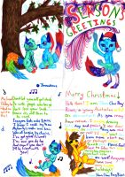 Holiday Card by StormClawPonyRises