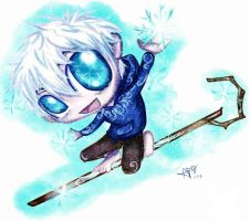 Jack Frost Chibi by Checker-Bee