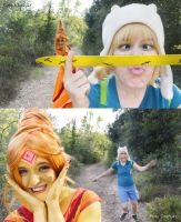 [Adventure Time] ~Different ways of expression (?) by Mugi-Cosplay