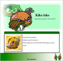 Kiko lake S1 2012 (journal skin) by DepaX3x