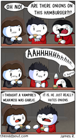 Vampires and Onions by theodd1soutcomic