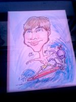 Caricatures: Extreme Surfing by KantQontrolMyself