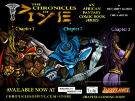 CHRONICLES OF PIYE AD by chriscrazyhouse
