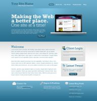 Website Template by anyz3n