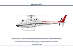 AS355 GB RAF 32 Sqn by WS-Clave