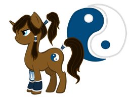 Crossover!Pony: Korra by CheleKat