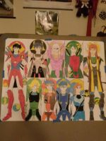 Ronin Warriors Poster by ladysagefear