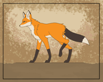 FINAL Fox Walking Cycle by Princess-Skye