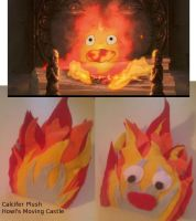 Howl's Moving Castle - Plush - Calcifer by Eli-Cosplay