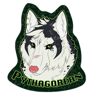 Pythagorean badge - prize by Kium
