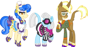 Fashion Ponies Unique Style by StarryOak